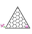 Dinosaur mazes for kids maze games worksheet