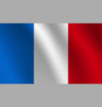 france national flag vector image