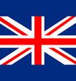 united kingdom flag united kingdom flag vector image vector image