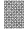 Circle block print vector image vector image