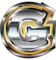 Fancy font Letter G