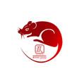 Happy chinese new year 2020year rat zodiac