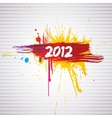new year grunge design vector image vector image