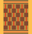 african seamless pattern cloth kente tribal vector image vector image