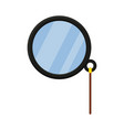 colorful cartoon monocle vector image