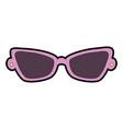 fashion eyeglasses isolated icon vector image