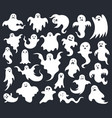 halloween horror ghost spooky scary ghosts ghost vector image