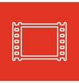 The film icon Film symbol Flat vector image vector image