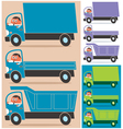 Truck Driver vector image