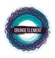 Color grunge design background vector image