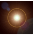 Abstract lens flare light vector image vector image