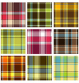 checkered pattern vector image vector image