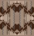 elegant geometric zigzag seamless pattern vector image vector image