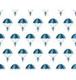 Parachuter pattern vector image vector image