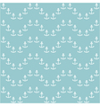 seamless sea pattern with anchors vector image