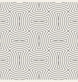 seamless vintage pattern of overlapping arcs in vector image vector image