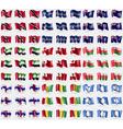 Trinidad and Tobago Nauru Montserrat United Arab vector image vector image