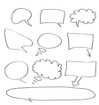 word bubble vector image vector image