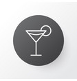 martini icon symbol premium quality isolated vector image