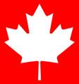 canada maple icon vector image