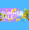 best sale banner vector image