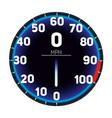 car speedometer dashboard icon vector image vector image