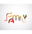 Family word concept