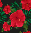 floral seamless pattern3 vector image vector image