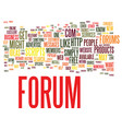 forums why you might want one and how to get one vector image vector image