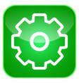 gear app icon vector image