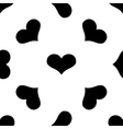 Heart seamless pattern 2 vector image