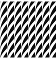 seamless decorative pattern striped black vector image vector image