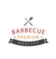 bbq barbecue premaium quality image vector image