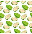berries seamless pattern vegetarian vector image