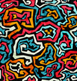 graffiti grunge seamless pattern vector image