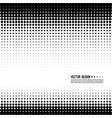 halftone pattern vector image vector image