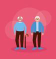 happy grandparents day flat design vector image vector image
