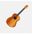 mexican guitar icon cartoon style vector image