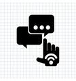 social media design vector image vector image