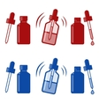 nasal drops icon vector image