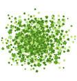 st patrick day green splash vector image