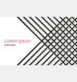 background with abstract stripes and lines vector image vector image