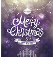 christmas blurred bg2 vector image vector image