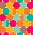 Circles pattern vector image