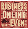 Does Every Business Need A Web Presence text