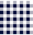 gingham seamless plaid pattern vector image vector image