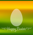 happy easter quote banner or greeting card vector image