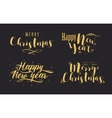 Happy New Year Holiday vector image vector image