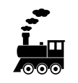 Locomotive icon vector image vector image