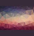 original vintage color triangle wallpaper vector image vector image